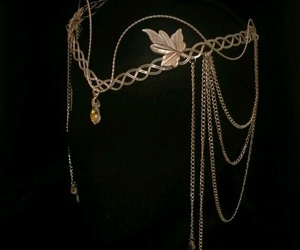 accessories, leaves, and fashion image