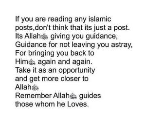 allah, guidance, and islam image