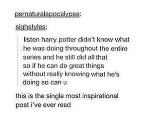 funny, harry potter, and inspirational image