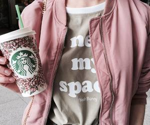 space, starbucks, and alone image