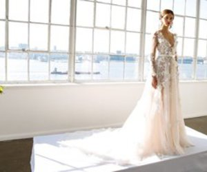 bridal, Couture, and wedding image