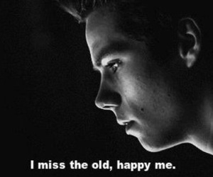 teen wolf, sad, and dylan o'brien image