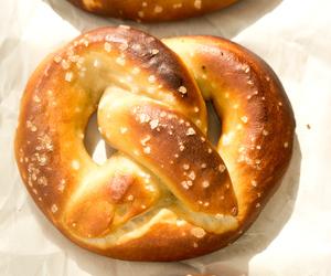 dessert, pretzel, and sweet image