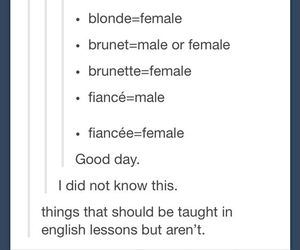 blond, blonde, and brunet image