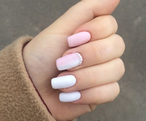 long, manicure, and nail image