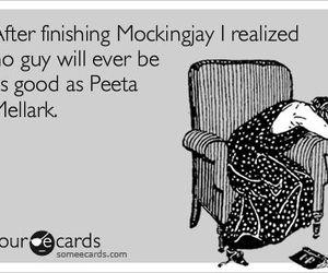 mockingjay and peeta mellark image