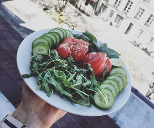healthy, summer, and tomate image