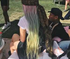 kylie jenner, hair, and tyga image
