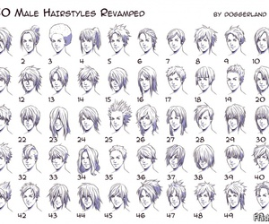 drawing and hairstyles image