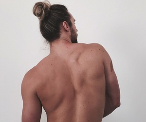 back, boy, and hair image