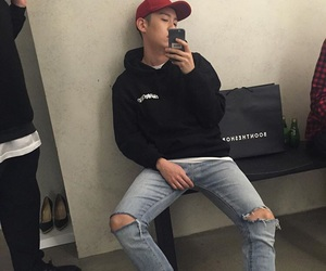 brand new, korean, and rapper image