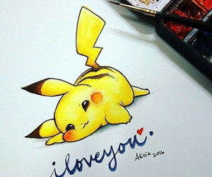 picachu, cute, and art image