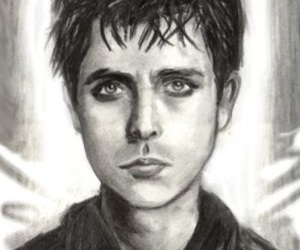 alternative, drawing, and green day image