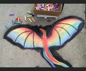 art, artwork, and chalk image