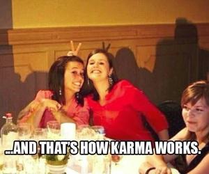karma, funny, and lol image