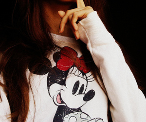 girl, minnie, and disney image