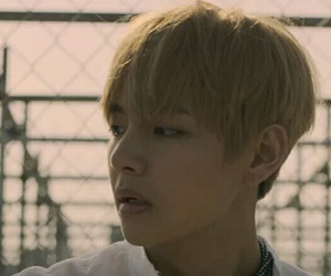 bts, v, and young forever image
