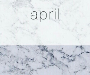 april, background, and marble image