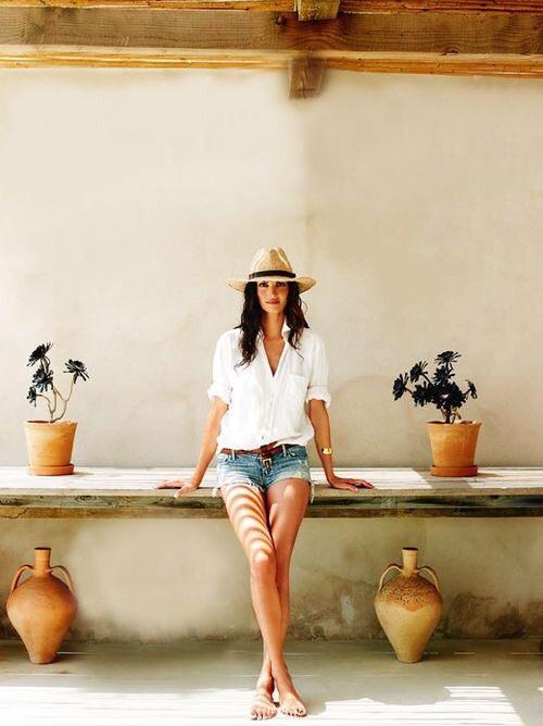 denim shorts, favourite, and linen shirt image