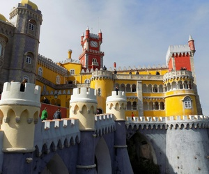 castle, sintra, and Ⓛⓘⓢⓑⓞⓐ image