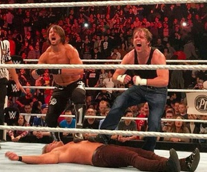 wwe, y2j, and dean ambrose image