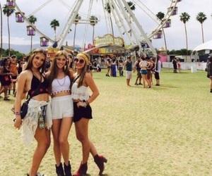 girl, festival, and summer image