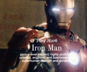 civil war, iron man, and tony stark image