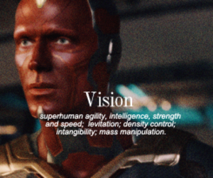 vision, Avengers, and civil war image