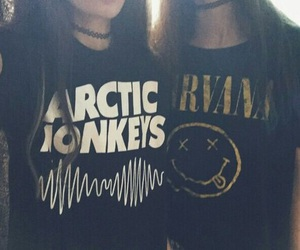 nirvana, grunge, and arctic monkeys image
