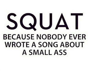 fitness, motivation, and squats image