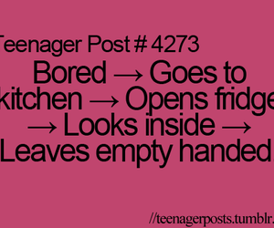 true, bored, and quote image