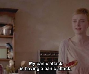 anxiety, quote, and panic attack image