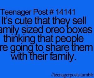 oreo, family, and funny image
