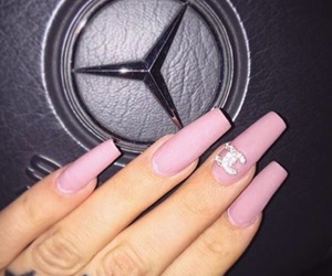 nails, beauty, and chanel image