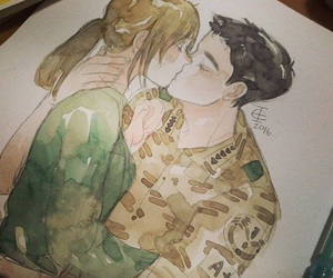 dots, handsome, and korean image
