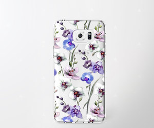 etsy, samsung galaxy s6, and floral iphone 6 case image