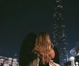 girl, Dubai, and friends image