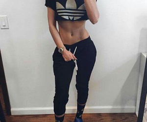 adidas, fitness, and superstar image