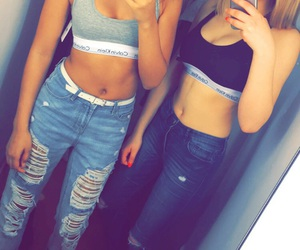 Calvin Klein, Hot, and bff goals image