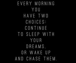 chase, choice, and dreams image