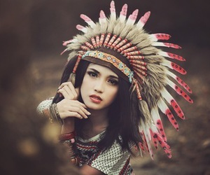 girl and indian image