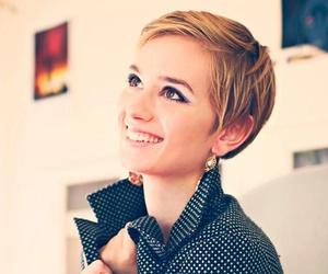 short hair, pixie cut, and cute image