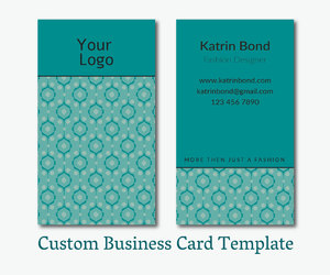 cool business cards, custom design cards, and etsy image