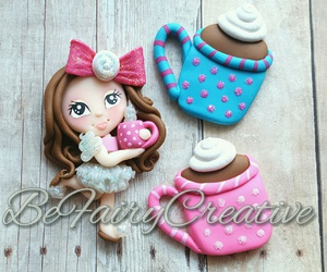 fimo, polymer clay, and clay charm image