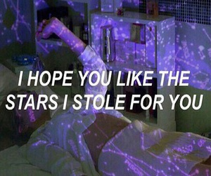grunge, stars, and quotes image