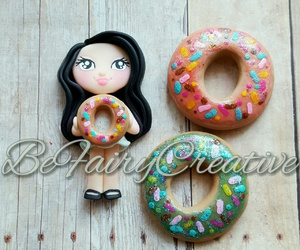 fimo, polymer clay, and clay charms image