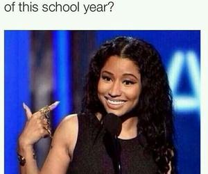 school, nicki minaj, and funny image