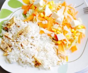 asian, food, and salad image