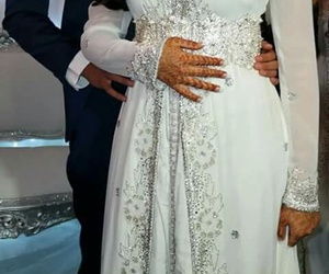 dress, mariage, and caftan image