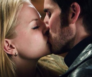 captain swan, Jennifer Morrison, and once upon a time image